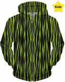 Designed Collection Fx - Kid's Hoodie - Neon Kids - Tiger