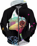 Graphic Rose - Hoodie - AWAB by OvahFx