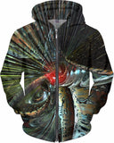 Heart of the Abstracts Fx - Hoodie - AWAB by OvahFx