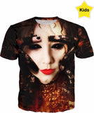 Featured Artist - Art by Hope McClure - Hands of Deception - Kid's T Shirt