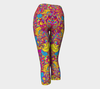 Absolutely Color Collection Fx - Yoga Capri  Leggings