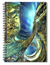 Gold Collection - Ocean Of Spray Fx  - Spiral Notebook
