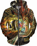 Color Fast Tiger Fx - Hoodie