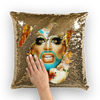 A.wab by O.vahFx   Sequin Cushion Cover Ft Glitz Glam