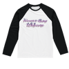Alan T  Sublimation Baseball Long Sleeve T-Shirt