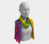 Pride Flame Fx - Long Scarf