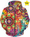 Designed Collection Fx - Kid's Hoodie -  Polka Festival Fx
