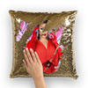 Athena Dion  Sequin Cushion Cover