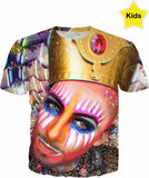 King of Queens Ft Earth Intruder - Kids T Shirt