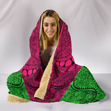 Absolutely Bubble Gum Fx - Hooded Blanket