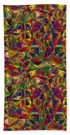 Glass Collection Fx - Color Glass  - Beach Towel