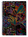 Glass Collection Fx - Elephant Ride  - Spiral Notebook