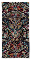 Glass Collection Fx - Owl Flight  - Beach Towel