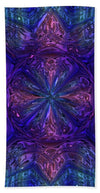 Glass Collection Fx - Purple Haze In Retro  Fx  - Beach Towel