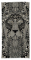 Glass Collection - Lioness Fx  - Beach Towel