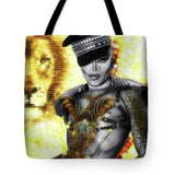 Kittys Golden Meow Fx - A.wab By O.vahfx  - Tote Bag