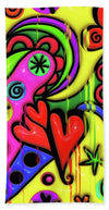 Love Neon Pride  - Beach Towel