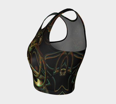 Abstract Core  Fx - Athletic Crop Top