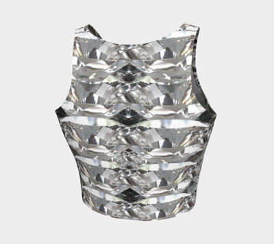 Diamond Gurl Fx - Athletic Crop Top