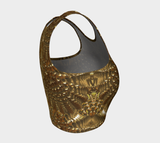 Golden Warf Sea Shell Head Fx - Athletic Crop Top