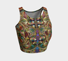 Whirly Jewels Fx - Athletic Crop Top