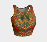 Glass Collection - Glass Dragon - Athletic Crop Top