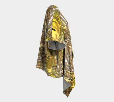 Gold Collection - Draped Kimono