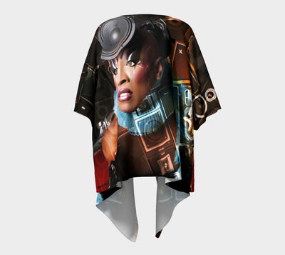A Queen Collection - Power of Sound Infiniti Fx - Draped Kimono Ft D.S.P