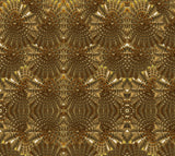 Gold Collection - Golden Warf Sea Shell -  Fabric