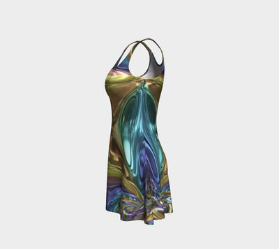 Glass Design Collection - Flare Dress