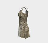 Platinum Gold Fx - Flare Dress