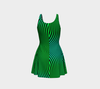 Alien Zebra Skin Fx - Flare Dress