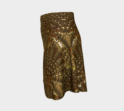 Golden Warf Sea Shell Fx - Flare Skirt