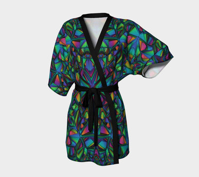 Art Deco - Stained Glass Fx - Kimono Robe