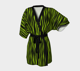 Neon & Black Tiger Fx - Designed Collection - Kimono Robe