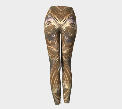 Glass Collection - Rusted Metal Glass - Leggings