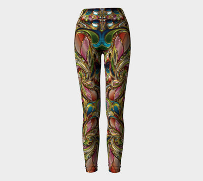 Absolutely W. Jewels Fx  - Yoga Leggings