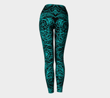 Blue Spanish Harlem Fly Fx - Yoga Leggings