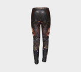 Youth Leggings - Abstract Design Collection Fx