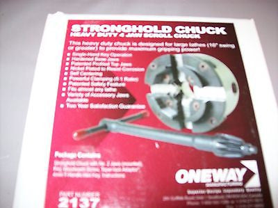 Woodturning Stronghold Chuck by Oneway w/ adaptor