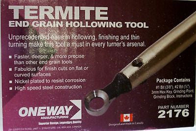 Wood Turning Oneway Termite End Gain Hollowing Tool