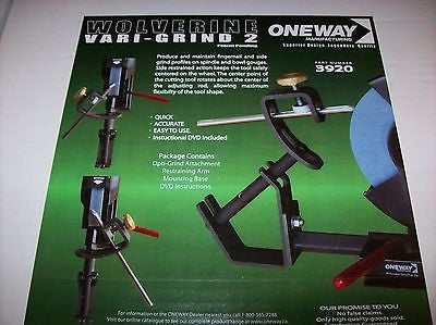 Oneway Vari-Grind 2 Jig w/ Base (#3920) for the Wolverine Jig For Woodturners