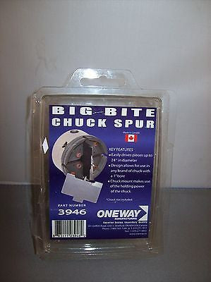 Woodturning Big Bite Chuck Spur by Oneway #3946