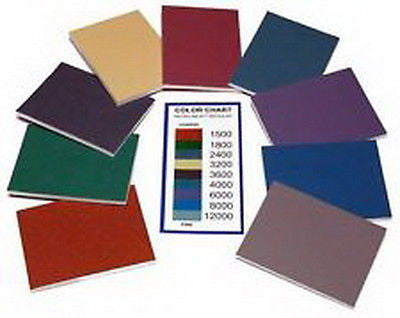 "Woodworking, Crafts 3"" x 4"" Micro-Mesh Soft Touch Pads Variety Pack 9 pads"