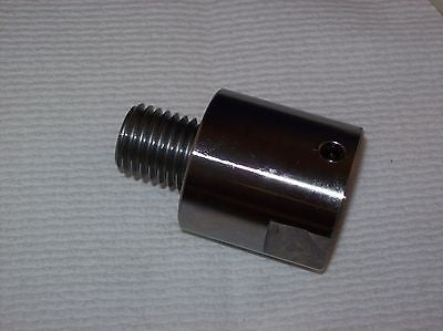 "Woodturning Headstock Spindle Adaptor 1-1/4""x8   to 1x8 tpi"