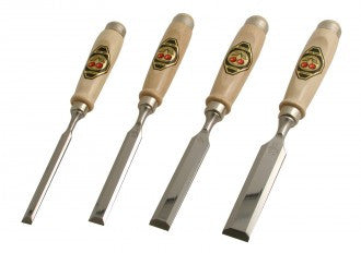 Two Cherries set of four Bevel Edged Chisels 500-1564