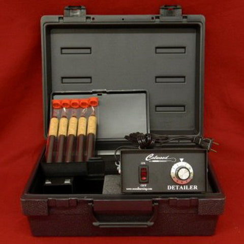 Colwood Woodburner Detailer Standard Woodburning Kit with 5 Fixed Tip Handpieces