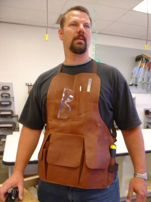 Leather Shop Apron by Piel Leather