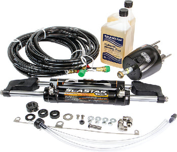 SeaStar Pro Hydraulic Steering Kit w/ Hoses