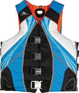 STEARNS PFD Mens Illusion Series Abstract Wave Nylon Vest